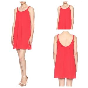 ⬇️Perfect For July 4th! TYCHE Flowy Red Mini Dress